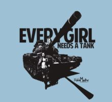 Every Girl Needs a Tank by ravenmacabre