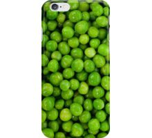 Green Peas Background iPhone Case/Skin