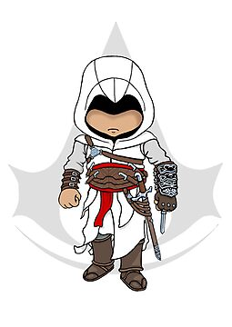 Assassin's Creed: Altair Chibi by SushiKittehs