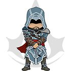 Assassin&#x27;s Creed Revelations: Ezio Chibi by SushiKitteh&#x27;s Creations