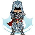 Assassin&#x27;s Creed Revelations: Ezio Chibi: Animus Edition by SushiKitteh&#x27;s Creations