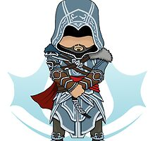 Assassin's Creed Revelations: Ezio Chibi: Animus Edition by SushiKittehs