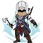 Assassin&#x27;s Creed 3: Connor Chibi: Animus Edition by SushiKitteh&#x27;s Creations