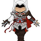 Ezio AC2 Chibi by SushiKitteh&#x27;s Creations