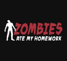 Zombies ate my homework by LaundryFactory