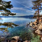 Lake Tahoe at Chimney by Dianne Phelps