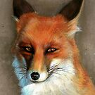 Red fox by arielaart