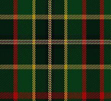 01944 Cates Hunting Clan/Family Tartan Fabric Print Iphone Case by Detnecs2013