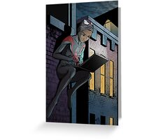 Ultimate Spider-Man Miles Morales Greeting Card
