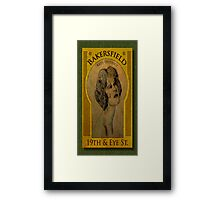 Bakersfield Arts District Framed Print