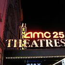 AMC 25 Cinema Theatre (formerly the Empire Theatre), 42nd Street, NYC, NY by Jane Neill-Hancock