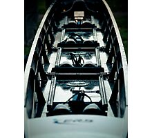 These Shoes are Made For Rowing Photographic Print