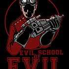 Dr. Horrible's Evil School of Evil CARD by Justyna Dorsz