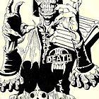 Judge Death by Monochrome-Bib