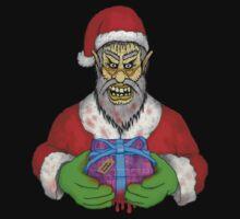 Evil Santa by Malcolm Kirk