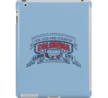 Columbia City Distressed iPad Case/Skin