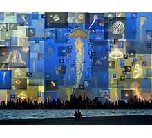 Our Jellyfish Sky Photographic Print