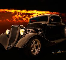 34 Ford Coupe Back in Black by ChasSinklier