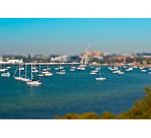 Modelling Geelong - Boats On A Bay Photographic Print