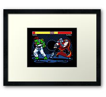 Sewer Fighter Framed Print