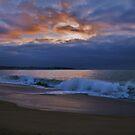 Enchanted Evening On The Beach, Algarobo, Chile by Daniela Weil