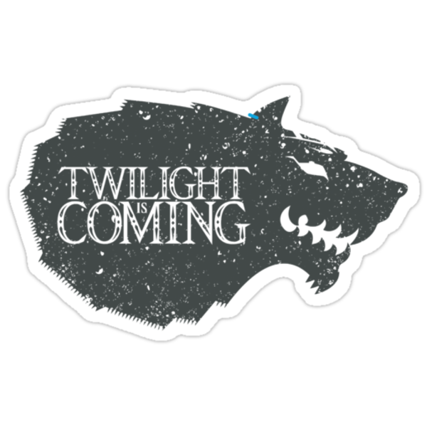 Twilight is Coming (Sticker) by thom2maro