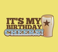 Cheers! It's my BIRTHDAY! with beer glass pint by jazzydevil
