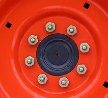 Orange Wheel by duplessie