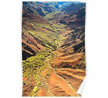 Waimea Canyon- Kauai Poster