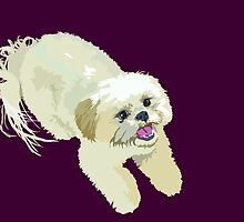 ShihTzu of Happiness  by SpiralArtistry