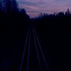 Railroad Morning in Oregon by PeachPark