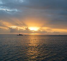 Whitsunday Sunset by Starlights
