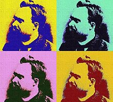 POP ART NIETZSCHE by Terry Collett