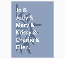 Jo & Jody & Mary... (sticker) by Kellyanne
