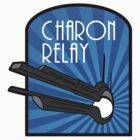 Charon Relay Luggage Sticker Alt Colour by universalfreak