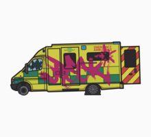 Wreck-ed Ambulance by Michael Baldwin