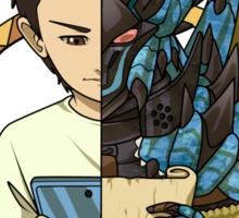 Monster Hunter Life (Azure Variant) Sticker
