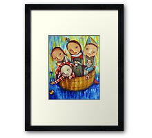 Royal Cruise Framed Print