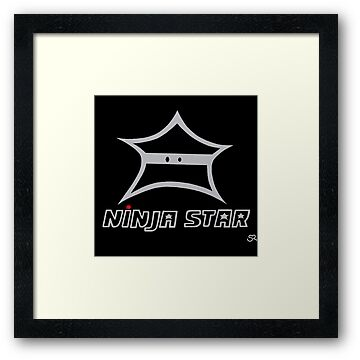 Ninja Star!  by Stacey Roman