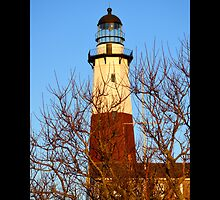 Historic Montauk Point Light On Turtle Hill - Montauk, New York by © Sophie W. Smith