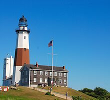Montauk Point Light by John Schneider
