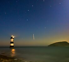 Trwyn Du Lighthouse, Near Penmon Anglesey by Matthew Floyd
