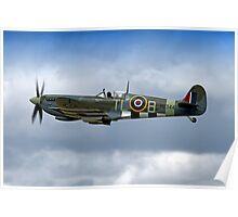 Supermarine Spitfire Mk IX PL344/T-LB G-IXCC Poster