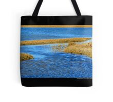 Shinnecock Bay Detail - Hampton Bays, New York  Tote Bag