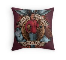 The Doctor's Doctor - PRINT Throw Pillow