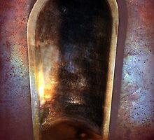 Battery Mishler Gun Emplacement, Lantern Well or? by Dawna Morton