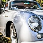 1956 Porsche 356A 1600s Speedster German Sports Car by Chris L Smith