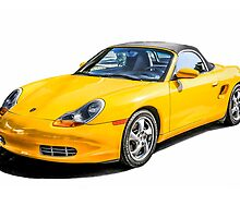 Porsche Boxster s German Sports Car  by Chris L Smith