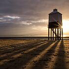 Lighthouse Sunburst & Shadows by Gary Clark