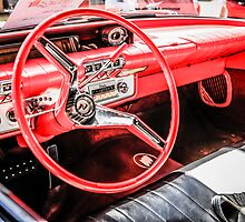 1960 Buick le Sabre American Classic Car Interior by Chris L Smith